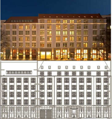 Knesebeck Ensemble, Knesebeckstrasse
